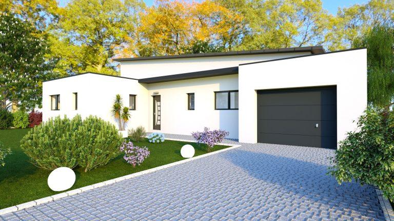 Maison contemporaine 118 m² - 169 000€