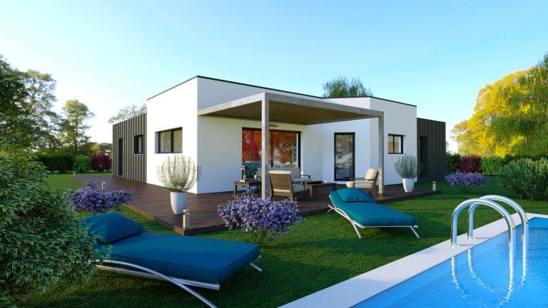 Maison contemporaine 105 m² - 156 500 €