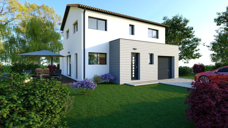 Maison contemporaine 117 m² - 168 000€