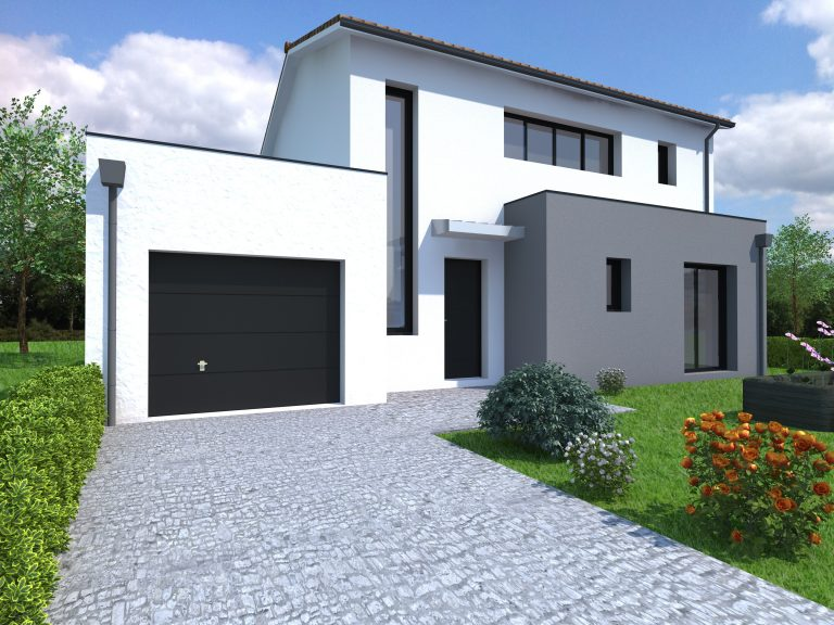 Maison contemporaine 133 m² - 195 000€