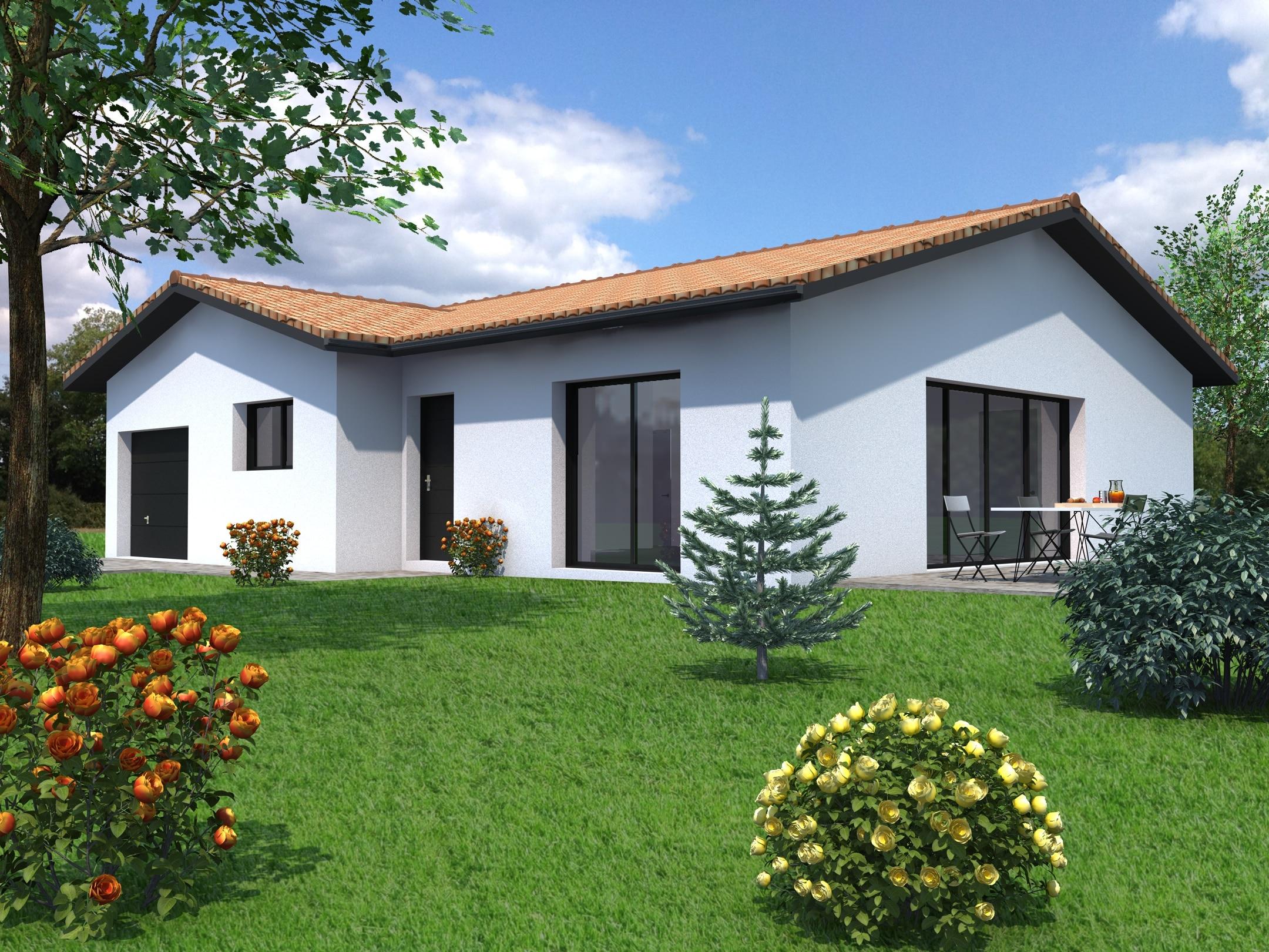 Maison neuve 44 traditionnelle 131 000 sur mesure mf construction for Maison neuve construction