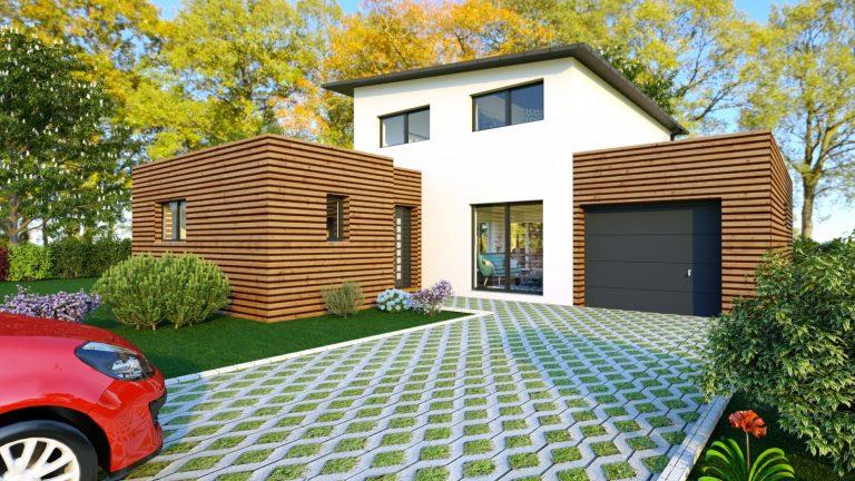 Maison Cubique Plan Et Photos Mf Construction
