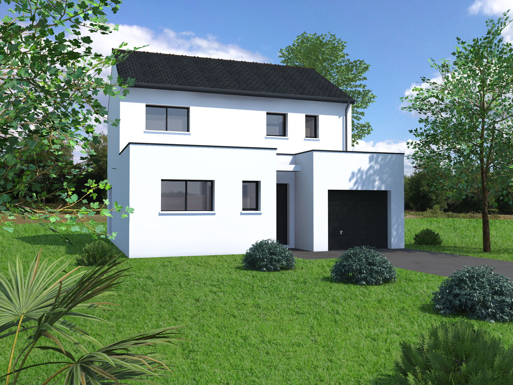 Plan Maison 120m2 Sur Mesure Mf Construction