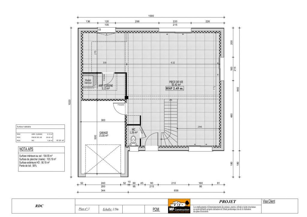 Plan Maison 100 M 2 A Etage