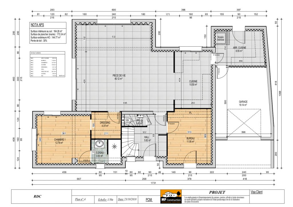 Plan Maison-MF Construction