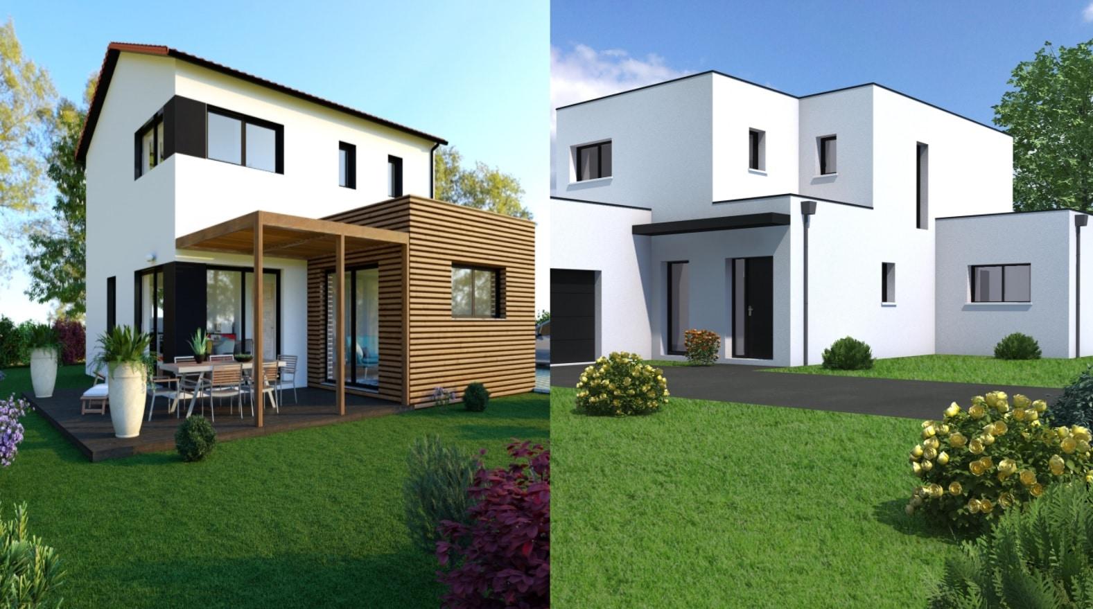 Les différences entre maison moderne et contemporaine ?