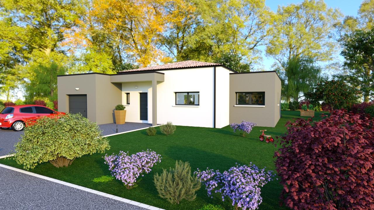 Maison tendance 106 m² - 179 000€
