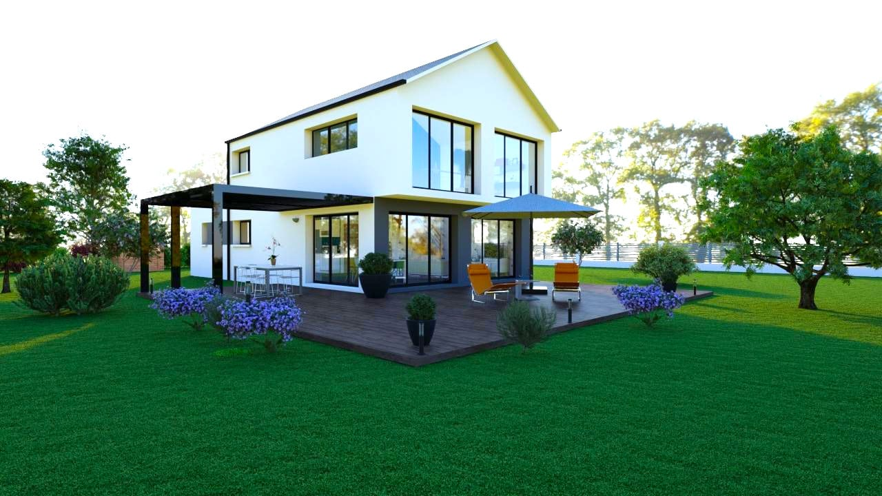 Maison tendance 119 m² - 188 000€